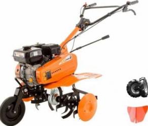 Motosapa Ruris Dac 7000K 7CP + roti cauciuc + rarita Motosape