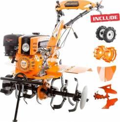 Motosapatoare RURIS 751KS 8.5 CP + Pachet Cadou roti cauciuc rarita plug reversibil rev1 roti metalice 400 fara manic Motosape