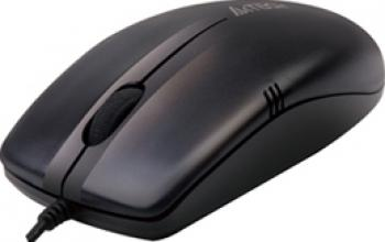 Mouse A4Tech V-track Padless USB Black Mouse
