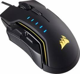 Mouse Gaming Corsair Glaive RGB 16000 DPI USB Negru Mouse Gaming