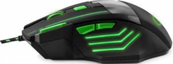 Mouse Gaming Esperanza EGM201G Wolf USB 2400dpi Green