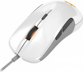 pret preturi Mouse Gaming SteelSeries Rival 300 alb