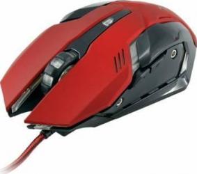 Mouse Gaming White Shark GM-1604 Caesar 4800 DPI USB Rosu Mouse Gaming