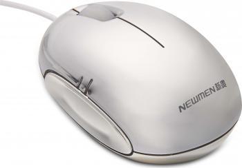 Mouse Laptop Iluminat Newmen M354 1000DPI Multicolor Mouse Laptop