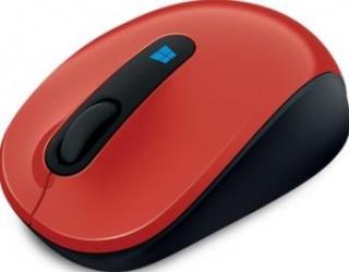 Mouse Laptop Microsoft Sculpt Mobile Red Mouse Laptop