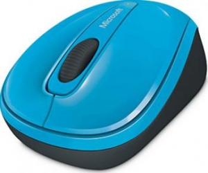 Mouse Laptop Microsoft Wireless 3500 Blue Mouse Laptop