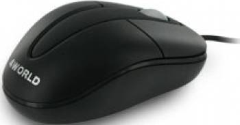 Mouse Laptop Optic 4World Classic 1200DPI Negru