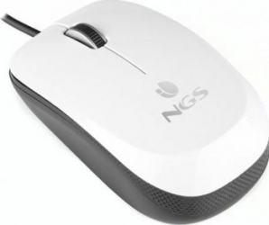 Mouse Laptop Optic NGS Flavour White