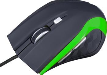 Mouse Modecom MC-M5 Optic 2400dpi Negru cu Verde