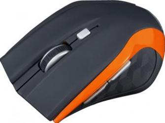 Mouse Modecom Wireless MC-WM5 Optic Negru cu Portocaliu mouse gaming
