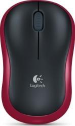 Mouse Laptop Logitech M185 Red Mouse Laptop