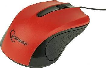 Mouse optic Gembird MUS-101-R Red Mouse