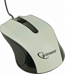 Mouse optic Gembird MUS-101-W White Mouse