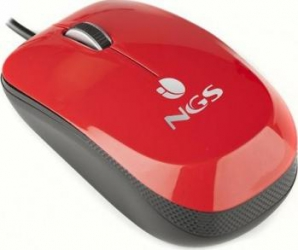 Mouse Laptop Optic NGS Flavour Red