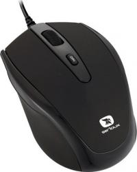 Mouse Laptop Serioux Pastel 3300 1600DPI Optic USB Black