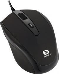 Mouse Laptop Serioux Pastel 3300 1600DPI Optic USB Black Mouse Laptop
