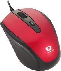 Mouse Laptop Serioux Pastel 3300 1600DPI Optic USB Red Mouse Laptop