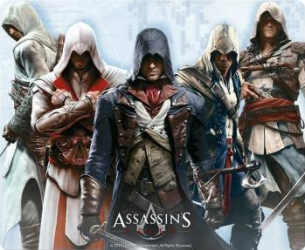 Mouse Pad AbyStyle Assassins Creed Group Mouse pad