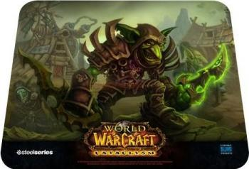 Mouse pad SteelSeries Qck World of Warcraft Cataclysm Goblin Mouse pad