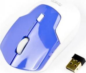 Mouse Laptop Wireless E-Blue Mayfek Blue 1480DPI 6000FPS