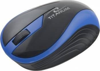 Mouse Wireless Esperanza TM113B 1000DPI Negru-Albastru Mouse