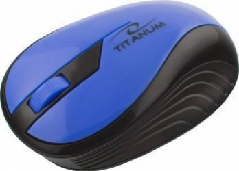 Mouse Wireless Esperanza TM114B 1000DPI Negru-Albastru Mouse Laptop