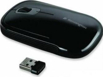 Mouse Wireless Kensington SlimBlade Negru Mouse Laptop