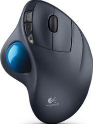 Mouse Wireless Logitech M570 Trackball USB Negru Mouse
