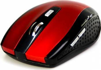 Mouse Wireless Media-Tech Raton Pro Rosu Mouse Laptop