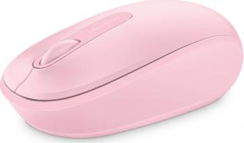 Mouse Wireless Microsoft Mobile 1850 Pink Mouse