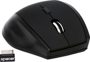 Mouse Wireless Optic Spacer SPMO-291 1600dpi Negru Mouse