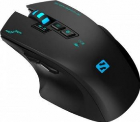 Mouse Wireless Sandberg Sniper USB 2400dpi Black Mouse Gaming