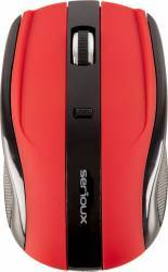 Mouse Wireless Serioux Rainbow 400 Rosu Mouse