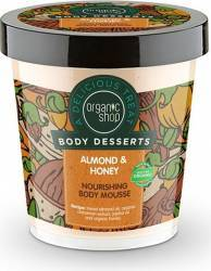 Mousse de corp Organic Shop Body Desserts delicios nutritiv Almond - Honey, 450 ml Lotiuni, Spray-uri, Creme