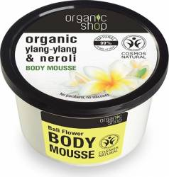 Mousse Organic Shop delicios pentru corp Bali Flower, 250 ml Lotiuni, Spray-uri, Creme