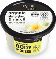 Mousse Organic Shop delicios pentru corp Bali Flower, 250 ml Lotiuni, Spray-uri, Creme