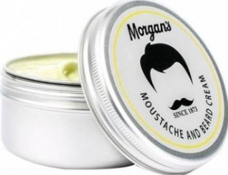 Produs ingrijire barba Morgans Moustache and Beard Cream 75ml Gel de Ras si Aftershave