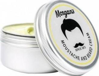 Produs ingrijire barba Morgans Moustache and Beard Cream 75ml Gel de Ras si Aftershave