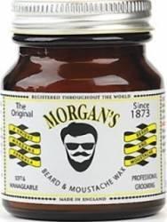 Produs ingrijire barba Morgans Moustache and Beard Wax Gel de Ras si Aftershave