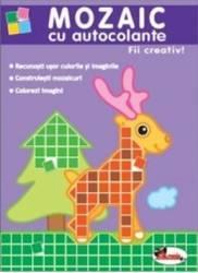 Mozaic cu autocolante - Fii creativ