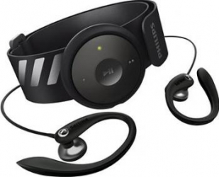 Mp3 Player Philips GoGEAR FitDot 2GB Black MP3 Player