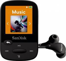 MP3 Player Sandisk Clip Sport 8GB Black