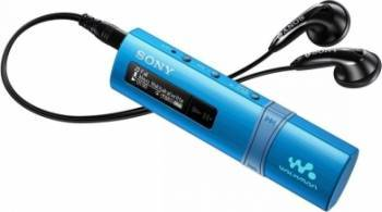 MP3 Player Sony Walkman cu USB 4GB Albastru MP3 Player