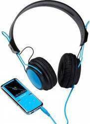 MP4 Player Intenso Video Scooter LCD 1.8 8GB Blue + Headphones MP3 Player