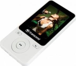 MP4 Player Transcend MP710 8GB Alb MP3 Player