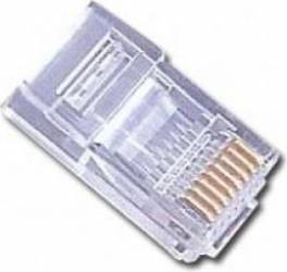 Mufa Gembird RJ45 pentru cablu UTP 6u set 100 buc MP-8P8C Accesorii Camere Supraveghere