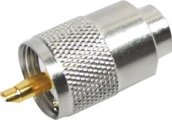 Mufa PL 259 pentru cablu RG213