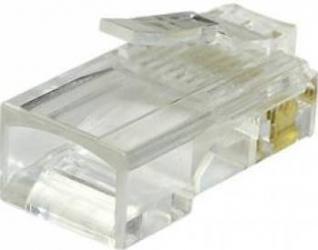 Mufa PNI RJ45 pentru cablu UTP Cat6 set 10 buc