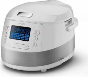 Multicooker Philips HD4731 5L 19 programe Functie de incalzire 3D Alb Multicooker