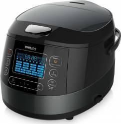 Multicooker Philips HD4749/70 1070W 5L 22 Programe automate Negru  Multicooker